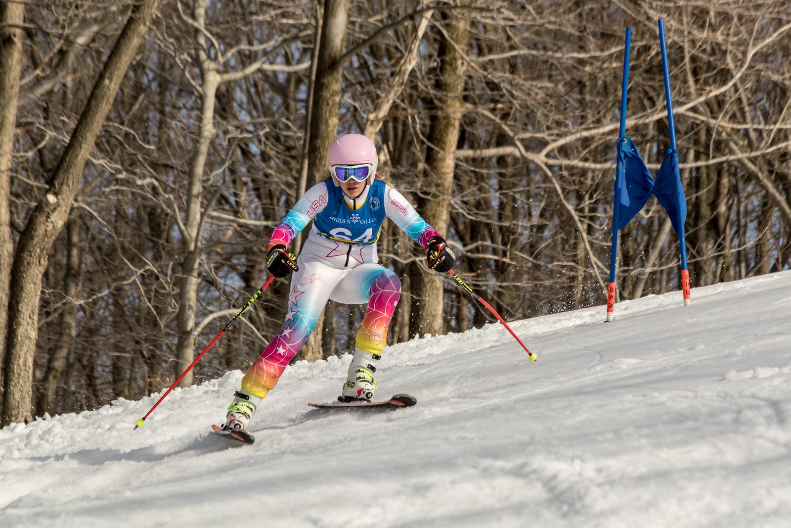 Erin Drahnak No.64 (HVRC) Open cup race 3 at Hidden Valley