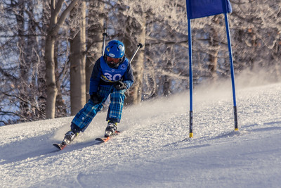Jackson Stone Bib No. 30 in the Hidden Valley Race Club GS 14th January 2018