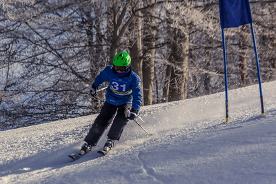 Maximus Hasch Bib No. 31 in the Hidden Valley Race Club GS 14th January 2018