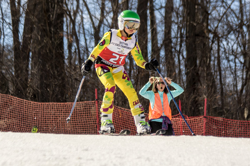 Michaela Klus No.21 (BMRA) 2017 PARA U12 State Championships at Roundtop Mountain Resort