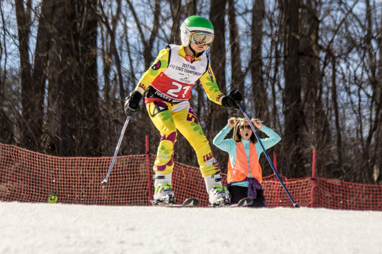 Michaela Klus No.21 (BMRA) 2017 PARA U12 State Championships at Roundtop Mountain Resort