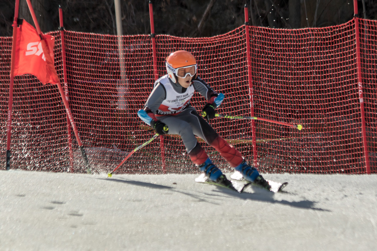 Noah Rosenthal No.52 (JFBB) 2017 PARA U12 State Championships at Roundtop Mountain Resort