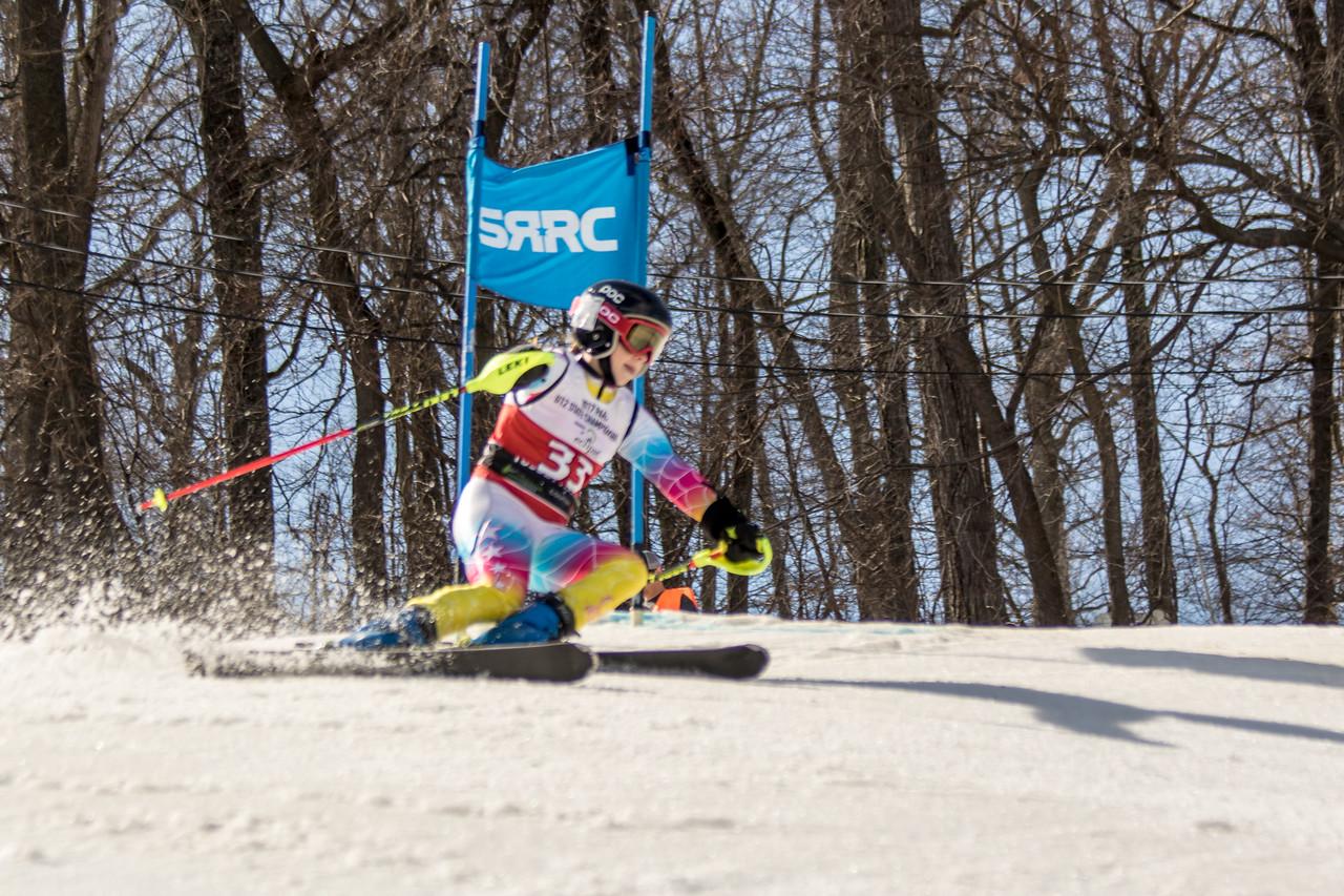 Grace Corbin No.33 (PASEF) 2017 PARA U12 State Championships at Roundtop Mountain Resort