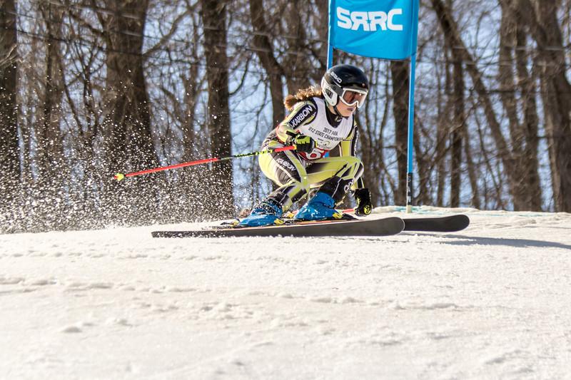 Rhiannon Lubaszewski No.6 (SRRC) 2017 PARA U12 State Championships at Roundtop Mountain Resort