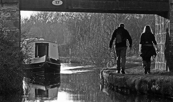 Antony Wilsdon with Towpath at Bridge 17