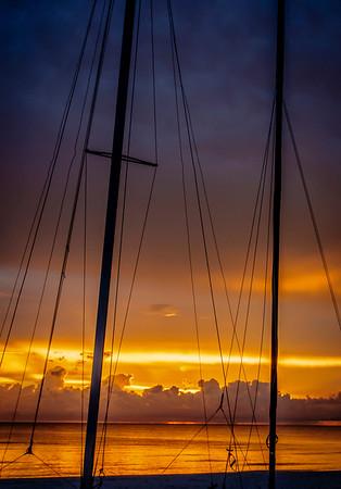 Sunset at Naples, Florida