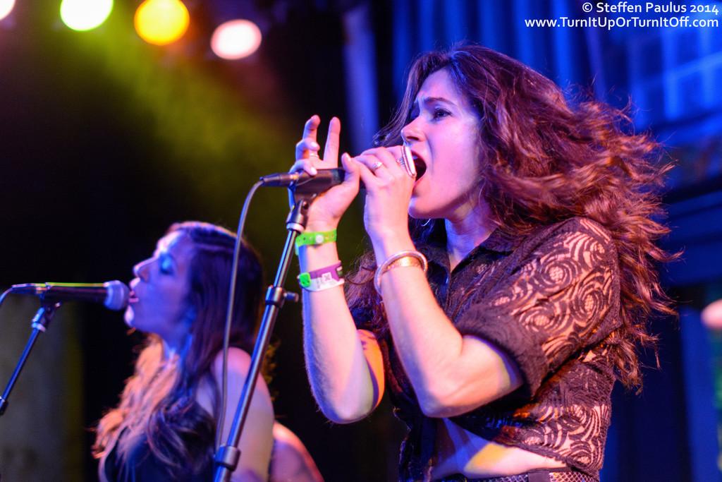 Lily & The Parlour Tricks @ Esther's Follies, Austin, TX, 15-March 2014