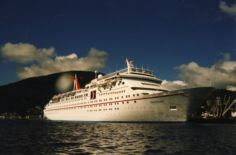 Our Carnival ship, the Tropicale