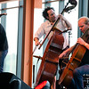 Project Trio performs at the Steel Jam Festival in Bethlehem, PA