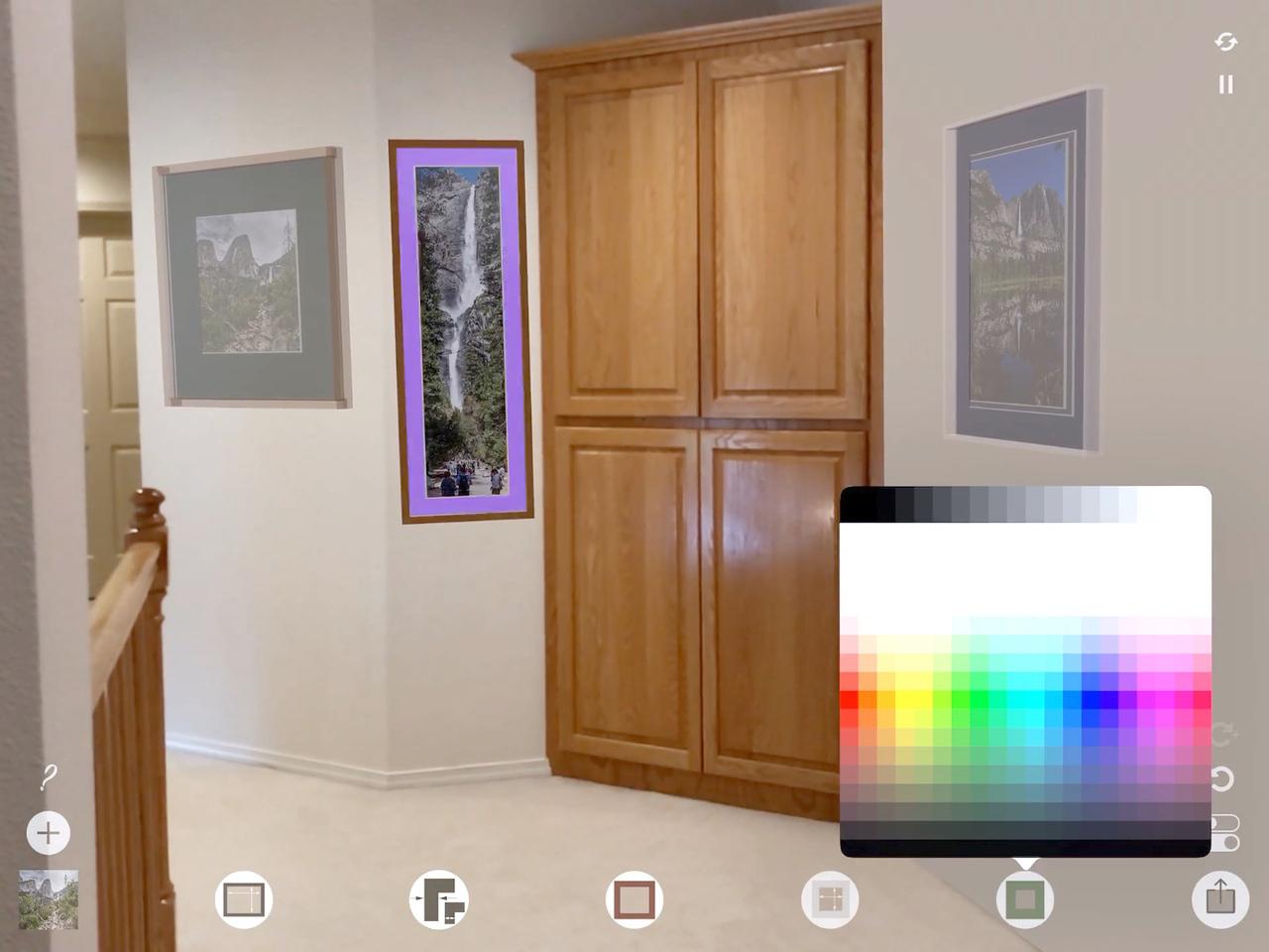 v3.0 Customize mat & frame colors