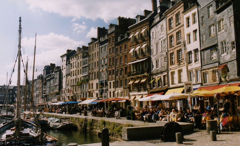 The town of Honfleur
