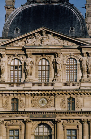 Pavillon Sully at the Louvre