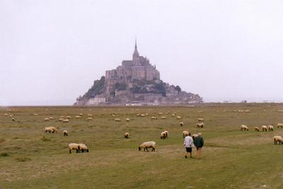 Mont St. Michel--stunning!!!