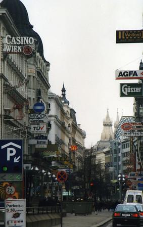 Karntnerstrasse in Vienna