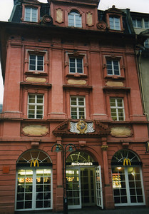 Beautiful McDonald's in Heidelberg