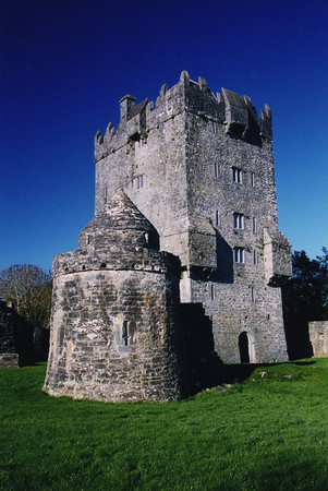 Aughnanure Castle, built in the 16th century