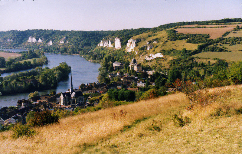 The town of Les Andelys