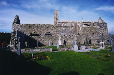 Corcomroe Abbey - founded in 1194