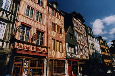 The town of Rouen