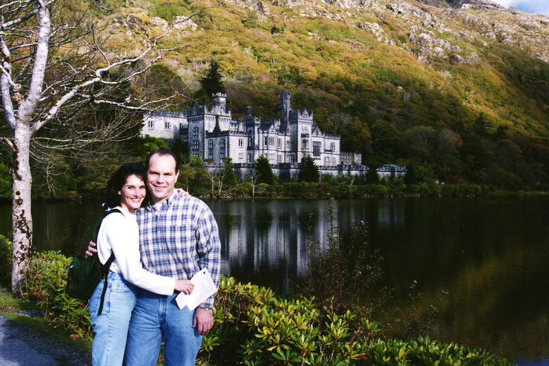 Kylemore Abbey, built between 1861-1868