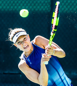 The Central Coast Pro Tennis Open was held at Templeton Tennis Ranch in Templeton, Ca. 9/23/18  Photo by Owen Main