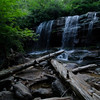 Glen Onoko Falls in Jim Thorpe, PA...  Beautiful place, but tough climb if you're not in shape... especially carrying gear.