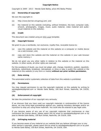 Copyright Notice1