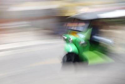 Tuk-tuk in Bangkok, Thailand.