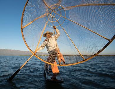 Fisherman on Inle Lake, Burma (Myanmar)