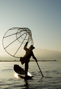 Fisherman on Inle Lake, Burma (Myanmar)