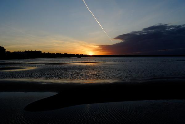 Pointes North Sunset