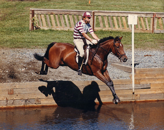Babe (Gone to Church) GMHA Horse Trials c1986