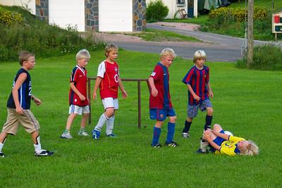 Trening på Hyggenbanen Aug 2006