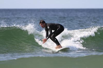 Higgins Beach Surfing 2017