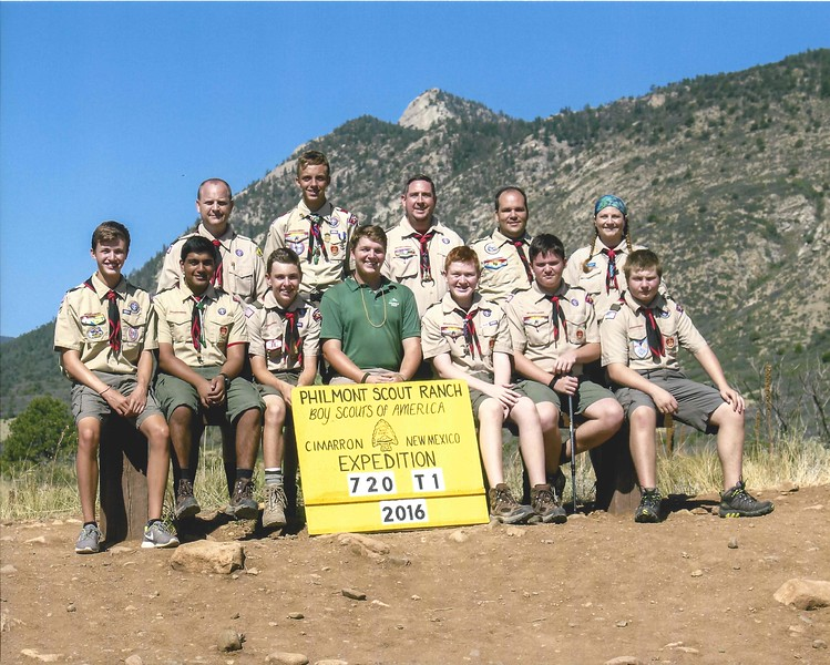 Philmont 2016<br /> Crew 720-T-01<br /> Itinerary 1