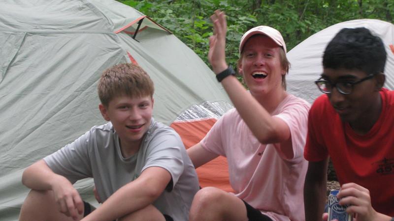 Day 1 Campsite @ Taum Sauk Creek, 9 miles