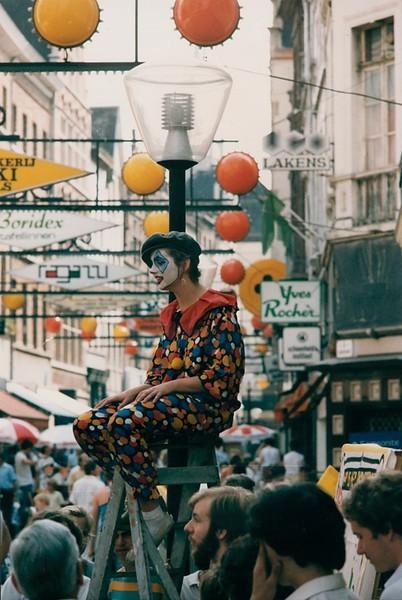 Straattheater, 1990's.