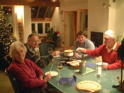 Christmas Eve Fondue
