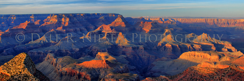 Taken from Grand View Point, Grand Canyon National Park, Arizona.  Note: Special steps may need to be taken when ordering a panoramic image please review the panoramic print sizes for cropping.  However the 10 x 30 and 12 x 36 appear to be perfect fits for the above image without cropping. HDR