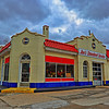 Art Deco Service Station, Monroe, Michigan (HDR)
