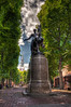 Paul Revere Statue by Cyrus E. Dallin<br /> North End