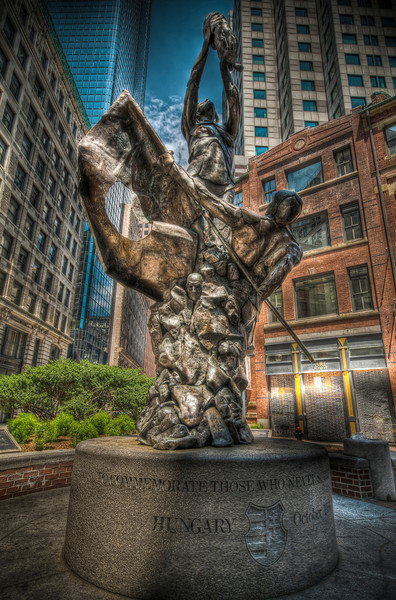 """Hungarian Monument<br /> 1986, by Gyuri Hollosy<br /> Liberty Square<br /> <br /> <a href=""""http://www.iboston.org/mcp.php?pid=hungarian&laf=pap"""">http://www.iboston.org/mcp.php?pid=hungarian&laf=pap</a>"""
