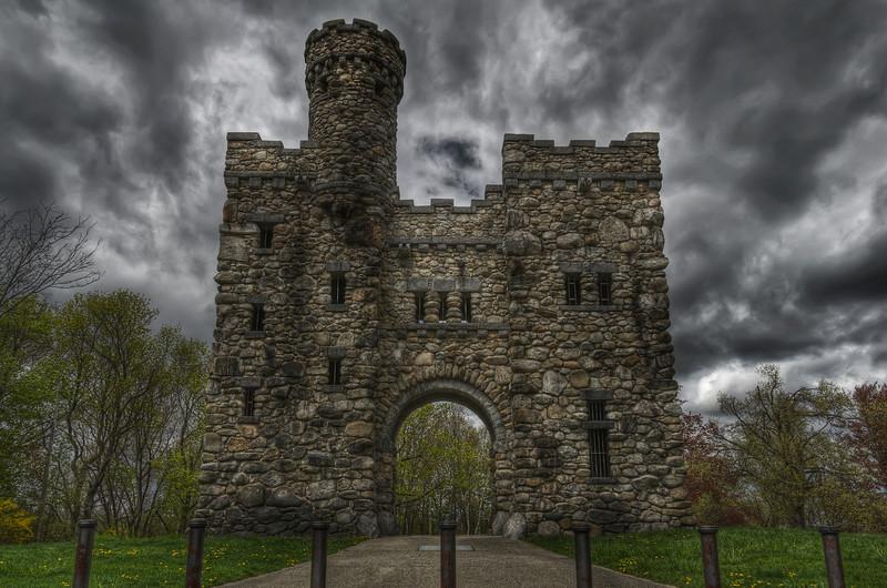 """The Bancroft Tower Castle"""