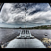 """View from inside the USS Massachusetts""<br /> May 29th, 2011<br /> This one was further post-processed in my iPad."
