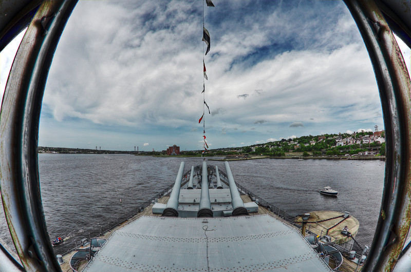 """View from inside the USS Massachusetts""<br /> May 29th, 2011"