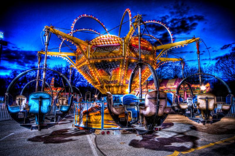 The Tornado at Rockwell Amusements at Silver City Galleria<br /> Taunton, MA<br /> April 20th, 2010