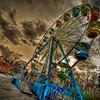 Ferris Wheel at Rockwell Amusements at Silver City Galleria<br /> Taunton, MA<br /> April 20th, 2010