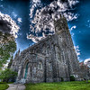 Unitarian Memorial Church<br /> Fairhaven, MA<br /> May 15th, 2010<br /> <br /> Full surreal HDR applied.