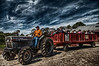 """""""The Hay Ride""""<br /> at Keith's Farm in Acushnet, MA"""