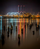 """India Point at Night"" - Cropped Version<br /> March 1st, 2013 at 9:04PM<br /> India Point Park<br /> Providence, RI"